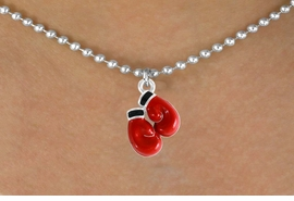<bR>               EXCLUSIVELY OURS!!<Br>         AN ALLAN ROBIN DESIGN!!<BR>CLICK HERE TO SEE 120+ EXCITING<BR>  CHANGES THAT YOU CAN MAKE!<BR>             LEAD & NICKEL FREE!!<BR> W641SN - RED BOXING GLOVES &<BR>   NECKLACE FROM $4.50 TO $8.35