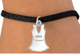 "<bR>              EXCLUSIVELY OURS!!<Br>        AN ALLAN ROBIN DESIGN!!<BR>CLICK HERE TO SEE 120+ EXCITING<BR>  CHANGES THAT YOU CAN MAKE!<BR>             LEAD & NICKEL FREE!!<BR> W644SB - ""LOVE"" TENNIS DRESS<Br>     & BRACELET AS LOW AS $3.65"