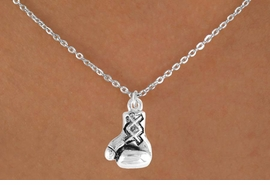<bR>              EXCLUSIVELY OURS!!<Br>         AN ALLAN ROBIN DESIGN!!<BR>CLICK HERE TO SEE 120+ EXCITING<BR>  CHANGES THAT YOU CAN MAKE!<BR>             LEAD & NICKEL FREE!!<BR> W645SN - SILVER BOXING GLOVE<BR>& NECKLACE FROM $4.50 TO $8.35