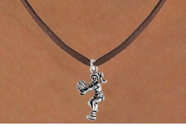 <bR>              EXCLUSIVELY OURS!!<Br>         AN ALLAN ROBIN DESIGN!!<BR>CLICK HERE TO SEE 120+ EXCITING<BR>  CHANGES THAT YOU CAN MAKE!<BR>             LEAD & NICKEL FREE!!<BR>  W649SN - VOLLEYBALL PLAYER<BR>    & NECKLACE AS LOW AS $4.05
