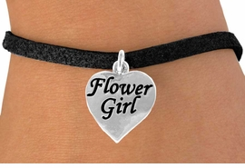 "<bR>               EXCLUSIVELY OURS!!<Br>         AN ALLAN ROBIN DESIGN!!<BR>CLICK HERE TO SEE 120+ EXCITING<BR>   CHANGES THAT YOU CAN MAKE!<BR>              LEAD & NICKEL FREE!!<BR> W651SB - ""FLOWER GIRL"" HEART<Br>      & BRACELET FROM $4.50 TO $8.35"