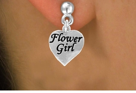 "<bR>                EXCLUSIVELY OURS!!<Br>          AN ALLAN ROBIN DESIGN!!<BR> CLICK HERE TO SEE 120+ EXCITING<BR>    CHANGES THAT YOU CAN MAKE!<BR>               LEAD & NICKEL FREE!!<BR>  W651SE - ""FLOWER GIRL"" HEART<Br>      & EARRINGS FROM $4.50 TO $8.35"