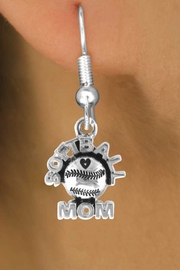 "<bR>                EXCLUSIVELY OURS!!<Br>          AN ALLAN ROBIN DESIGN!!<BR> CLICK HERE TO SEE 120+ EXCITING<BR>    CHANGES THAT YOU CAN MAKE!<BR>               LEAD & NICKEL FREE!!<BR>       W652SE - ""SOFTBALL MOM""<Br>      & EARRINGS FROM $4.50 TO $8.35"