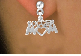 "<bR>                EXCLUSIVELY OURS!!<Br>          AN ALLAN ROBIN DESIGN!!<BR> CLICK HERE TO SEE 120+ EXCITING<BR>    CHANGES THAT YOU CAN MAKE!<BR>               LEAD & NICKEL FREE!!<BR>          W657SE - ""SOCCER MOM""<Br>      & EARRINGS FROM $4.50 TO $8.35"