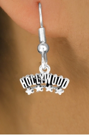 "<bR>               EXCLUSIVELY OURS!!<Br>        AN ALLAN ROBIN DESIGN!!<BR>CLICK HERE TO SEE 120+ EXCITING<BR>   CHANGES THAT YOU CAN MAKE!<BR>              LEAD & NICKEL FREE!!<BR>W659SE -  ""HOLLYWOOD"" CHARM<Br> & EARRING FROM $4.50 TO $8.35"