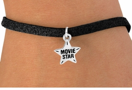 "<bR>               EXCLUSIVELY OURS!!<Br>         AN ALLAN ROBIN DESIGN!!<BR>CLICK HERE TO SEE 120+ EXCITING<BR>   CHANGES THAT YOU CAN MAKE!<BR>              LEAD & NICKEL FREE!!<BR> W660SB -  ""MOVIE STAR"" CHARM<Br> & BRACELET FROM $4.50 TO $8.35"