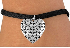 <bR>               EXCLUSIVELY OURS!!<Br>         AN ALLAN ROBIN DESIGN!!<BR>CLICK HERE TO SEE 120+ EXCITING<BR>   CHANGES THAT YOU CAN MAKE!<BR>              LEAD & NICKEL FREE!!<BR>        W665SB -  PUFFED AUTISM<Br> AWARENESS PUZZLE PIECE HEART<bR>          & BRACELET ©2010 FROM<bR>                       $4.50 TO $8.35