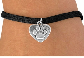 <bR>               EXCLUSIVELY OURS!!<Br>         AN ALLAN ROBIN DESIGN!!<BR>CLICK HERE TO SEE 120+ EXCITING<BR>   CHANGES THAT YOU CAN MAKE!<BR>              LEAD & NICKEL FREE!!<BR>  W673SB - PAW HEART CHARM &<Br>   BRACELET FROM $4.50 TO $8.35