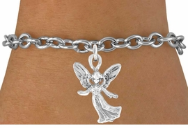 <bR>               EXCLUSIVELY OURS!!<Br>         AN ALLAN ROBIN DESIGN!!<BR>CLICK HERE TO SEE 120+ EXCITING<BR>   CHANGES THAT YOU CAN MAKE!<BR>              LEAD & NICKEL FREE!!<BR>W675SB - HAPPY ANGEL CHARM &<Br>   BRACELET FROM $4.50 TO $8.35