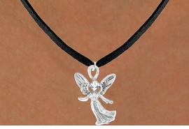 <bR>                 EXCLUSIVELY OURS!!<Br>           AN ALLAN ROBIN DESIGN!!<BR>  CLICK HERE TO SEE 120+ EXCITING<BR>     CHANGES THAT YOU CAN MAKE!<BR>                LEAD & NICKEL FREE!!<BR>  W675SN - HAPPY ANGEL CHARM &<BR>     NECKLACE FROM $4.50 TO $8.35