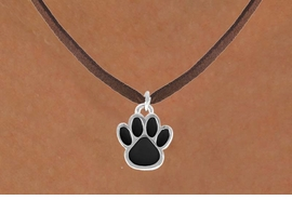 <bR>                 EXCLUSIVELY OURS!!<Br>           AN ALLAN ROBIN DESIGN!!<BR>  CLICK HERE TO SEE 120+ EXCITING<BR>     CHANGES THAT YOU CAN MAKE!<BR>                LEAD & NICKEL FREE!!<BR>     W685SN - LARGE BLACK PAW &<BR>     NECKLACE FROM $4.50 TO $8.35