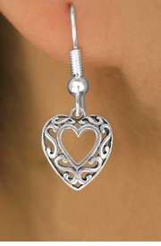<bR>                EXCLUSIVELY OURS!!<Br>          AN ALLAN ROBIN DESIGN!!<BR> CLICK HERE TO SEE 120+ EXCITING<BR>    CHANGES THAT YOU CAN MAKE!<BR>               LEAD & NICKEL FREE!!<BR>W689SE - SCROLL-WORK HEART &<BR>    EARRINGS FROM $4.50 TO $8.35
