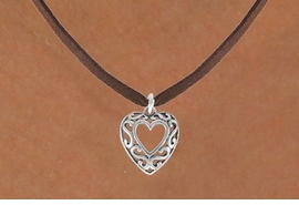 <bR>                 EXCLUSIVELY OURS!!<Br>           AN ALLAN ROBIN DESIGN!!<BR>  CLICK HERE TO SEE 120+ EXCITING<BR>     CHANGES THAT YOU CAN MAKE!<BR>                LEAD & NICKEL FREE!!<BR> W689SN - SCROLL-WORK HEART &<BR>     NECKLACE FROM $4.50 TO $8.35