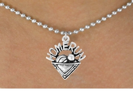 "<bR>                 EXCLUSIVELY OURS!!<Br>           AN ALLAN ROBIN DESIGN!!<BR>  CLICK HERE TO SEE 120+ EXCITING<BR>     CHANGES THAT YOU CAN MAKE!<BR>                LEAD & NICKEL FREE!!<BR>    W701SN - ""HOME RUN"" PLATE &<BR>    NECKLACE FROM $4.50 TO $8.35"