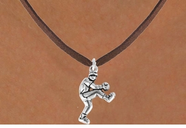 <bR>               EXCLUSIVELY OURS!!<Br>         AN ALLAN ROBIN DESIGN!!<BR>CLICK HERE TO SEE 120+ EXCITING<BR>   CHANGES THAT YOU CAN MAKE!<BR>              LEAD & NICKEL FREE!!<BR>  W702SN - BASEBALL/SOFTBALL<BR>      PITCHER CHARM & NECKLACE<Br>              FROM $4.50 TO $8.35