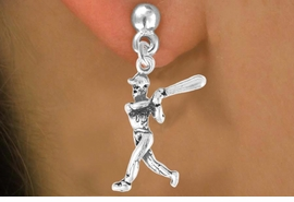 <bR>                 EXCLUSIVELY OURS!!<Br>           AN ALLAN ROBIN DESIGN!!<BR>  CLICK HERE TO SEE 120+ EXCITING<BR>    CHANGES THAT YOU CAN MAKE!<BR>               LEAD & NICKEL FREE!!<BR>    W706SE - BASEBALL/SOFTBALL<BR> BATTER CHARM & EARRINGS FROM<bR>                      $4.50 TO $8.35