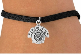 "<bR>               EXCLUSIVELY OURS!!<Br>         AN ALLAN ROBIN DESIGN!!<BR>CLICK HERE TO SEE 120+ EXCITING<BR>   CHANGES THAT YOU CAN MAKE!<BR>              LEAD & NICKEL FREE!!<BR>    W708SB - ""HOCKEY ROCKS"" &<Br>   BRACELET FROM $4.50 TO $8.35"