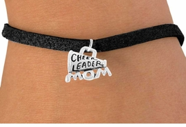 "<bR>                 EXCLUSIVELY OURS!!<Br>           AN ALLAN ROBIN DESIGN!!<BR>  CLICK HERE TO SEE 120+ EXCITING<BR>     CHANGES THAT YOU CAN MAKE!<BR>                LEAD & NICKEL FREE!!<BR>  W711SB - ""CHEERLEADER MOM"" &<Br>      BRACELET FROM $4.50 TO $8.35"