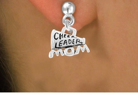 "<bR>                 EXCLUSIVELY OURS!!<Br>           AN ALLAN ROBIN DESIGN!!<BR>  CLICK HERE TO SEE 120+ EXCITING<BR>     CHANGES THAT YOU CAN MAKE!<BR>                LEAD & NICKEL FREE!!<BR>  W711SE - ""CHEERLEADER MOM"" &<BR>     EARRINGS FROM $4.50 TO $8.35"
