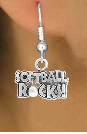"<bR>                EXCLUSIVELY OURS!!<Br>          AN ALLAN ROBIN DESIGN!!<BR> CLICK HERE TO SEE 120+ EXCITING<BR>    CHANGES THAT YOU CAN MAKE!<BR>               LEAD & NICKEL FREE!!<BR>    W715SE - ""SOFTBALL ROCKS""� &<BR>    EARRINGS FROM $4.50 TO $8.35<bR>                                ©2010"
