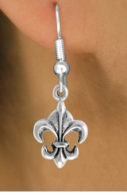 "<bR>                EXCLUSIVELY OURS!!<Br>          AN ALLAN ROBIN DESIGN!!<BR> CLICK HERE TO SEE 120+ EXCITING<BR>    CHANGES THAT YOU CAN MAKE!<BR>               LEAD & NICKEL FREE!!<BR>   W716SE - ""FLEUR DE LIS"" CHARM<BR>    EARRINGS FROM $4.50 TO $8.35<bR>                                ©2010"