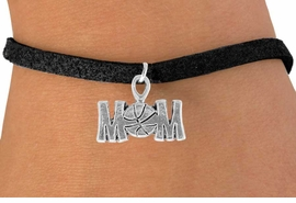 "<bR>                 EXCLUSIVELY OURS!!<Br>           AN ALLAN ROBIN DESIGN!!<BR>  CLICK HERE TO SEE 120+ EXCITING<BR>     CHANGES THAT YOU CAN MAKE!<BR>                LEAD & NICKEL FREE!!<BR>   W733SB - ""BASKETBALL MOM"" &<Br>      BRACELET FROM $4.50 TO $8.35"
