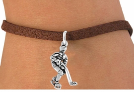 <bR>               EXCLUSIVELY OURS!!<Br>         AN ALLAN ROBIN DESIGN!!<BR>CLICK HERE TO SEE 120+ EXCITING<BR>   CHANGES THAT YOU CAN MAKE!<BR>              LEAD & NICKEL FREE!!<BR>W739SB - HOCKEY PLAYER CHARM<Br>   BRACELET FROM $4.50 TO $8.35