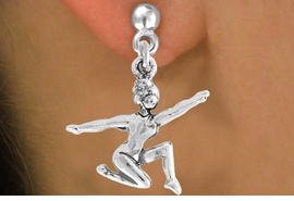 "<bR>                 EXCLUSIVELY OURS!!<Br>           AN ALLAN ROBIN DESIGN!!<BR>  CLICK HERE TO SEE 120+ EXCITING<BR>     CHANGES THAT YOU CAN MAKE!<BR>                LEAD & NICKEL FREE!!<BR>     W743SE - ""FLOOR GYMNAST"" &<BR>     EARRINGS FROM $4.50 TO $8.35<BR>                               �2008"