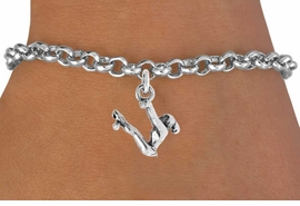 "<bR>                 EXCLUSIVELY OURS!!<Br>           AN ALLAN ROBIN DESIGN!!<BR>  CLICK HERE TO SEE 120+ EXCITING<BR>     CHANGES THAT YOU CAN MAKE!<BR>                LEAD & NICKEL FREE!!<BR> W746SB - ""SWINGING GYMNAST"" &<Br>      BRACELET FROM $4.50 TO $8.35"