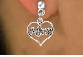 "<bR>                 EXCLUSIVELY OURS!!<Br>           AN ALLAN ROBIN DESIGN!!<BR>  CLICK HERE TO SEE 120+ EXCITING<BR>     CHANGES THAT YOU CAN MAKE!<BR>                LEAD & NICKEL FREE!!<BR>        W750SE - ""NURSE""  HEART &<BR>     EARRINGS FROM $4.50 TO $8.35"