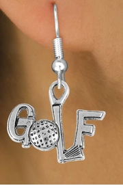 "<bR>                 EXCLUSIVELY OURS!!<Br>           AN ALLAN ROBIN DESIGN!!<BR>  CLICK HERE TO SEE 120+ EXCITING<BR>     CHANGES THAT YOU CAN MAKE!<BR>                LEAD & NICKEL FREE!!<BR>          W753SE - ""GOLF"" CHARM &<BR>     EARRINGS FROM $4.50 TO $8.35"
