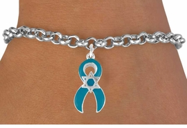 <bR>                EXCLUSIVELY OURS!!<Br>          AN ALLAN ROBIN DESIGN!!<BR>CLICK HERE TO SEE 120+ EXCITING<BR>   CHANGES THAT YOU CAN MAKE!<BR>       W724SB - TEAL AWARENESS<bR>          RIBBON & STAR OF DAVID<Br>   BRACELET FROM  $4.50 TO $8.35