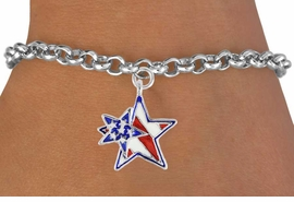 "<bR>               EXCLUSIVELY OURS!!<Br>         AN ALLAN ROBIN DESIGN!!<BR>CLICK HERE TO SEE 120+ EXCITING<BR>   CHANGES THAT YOU CAN MAKE!<BR>   W731SB - ""PATRIOTIC 2-STAR""<Br>        CHARM & BRACELET FROM<Br>                     $4.50 TO $8.35"