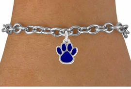 <bR>               EXCLUSIVELY OURS!!<Br>         AN ALLAN ROBIN DESIGN!!<BR>CLICK HERE TO SEE  500+ EXCITING<BR>   CHANGES THAT YOU CAN MAKE!<BR>              LEAD & NICKEL FREE!!<BR>  W748SB - MEDIUM BLUE PAW &<Br>   BRACELET FROM $4.50 TO $8.35
