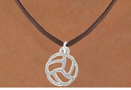 <bR>                 EXCLUSIVELY OURS!!<Br>           AN ALLAN ROBIN DESIGN!!<BR>  CLICK HERE TO SEE 500+ EXCITING<BR>     CHANGES THAT YOU CAN MAKE!<BR>                LEAD & NICKEL FREE!!<BR>  W762SN - CUT OUT VOLLEYBALL CHARM <BR>          NECKLACE FROM $4.50 TO $8.35
