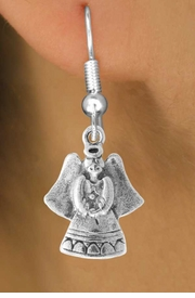 <bR>                    EXCLUSIVELY OURS!!<Br>              AN ALLAN ROBIN DESIGN!!<BR>  CLICK HERE TO SEE 500+ EXCITING<BR>     CHANGES THAT YOU CAN MAKE!<BR>                LEAD & NICKEL FREE!!<BR>      W765SE - SWEET ANGEL CHARM <BR>      EARRINGS FROM $4.50 TO $8.35