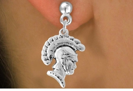 <bR>                    EXCLUSIVELY OURS!!<Br>              AN ALLAN ROBIN DESIGN!!<BR>  CLICK HERE TO SEE 500+ EXCITING<BR>     CHANGES THAT YOU CAN MAKE!<BR>                LEAD & NICKEL FREE!!<BR>        W769SE - TROJAN CHARM <BR>      EARRINGS FROM $4.50 TO $8.35