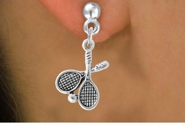 <bR>                    EXCLUSIVELY OURS!!<Br>              AN ALLAN ROBIN DESIGN!!<BR>  CLICK HERE TO SEE 500+ EXCITING<BR>     CHANGES THAT YOU CAN MAKE!<BR>                LEAD & NICKEL FREE!!<BR>          W772SE - TENNIS RACKETS<BR>       AND BALL CHARM EARRINGS <BR>               FROM $4.50 TO $8.35