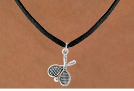 <bR>                 EXCLUSIVELY OURS!!<Br>           AN ALLAN ROBIN DESIGN!!<BR>  CLICK HERE TO SEE 500+ EXCITING<BR>     CHANGES THAT YOU CAN MAKE!<BR>                LEAD & NICKEL FREE!!<BR>       W772SN - TENNIS RACKETS<BR>      AND BALL CHARM NECKLACE <BR>            FROM $4.50 TO $8.35