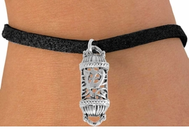 "<bR>               EXCLUSIVELY OURS!!<BR>         AN ALLAN ROBIN DESIGN!!<BR>CLICK HERE TO SEE 500+ EXCITING<BR>   CHANGES THAT YOU CAN MAKE!<BR>              LEAD & NICKEL FREE!!<BR>    W846SB - ""MEZUZAH"" CHARM <Br>    BRACELET FROM $4.50 TO $8.35"