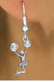 <bR>                EXCLUSIVELY OURS!!<BR>           AN ALLAN ROBIN DESIGN!!<BR>   CLICK HERE TO SEE 600+ EXCITING<BR>        CHANGES THAT YOU CAN MAKE!<BR>     CADMIUM, LEAD & NICKEL FREE!!<BR> W1399SE - SPIRIT POM POMS JUMPING <Br>       CHEERLEADER CHARM EARRINGS <BR>         FROM $4.50 TO $8.35 �2013
