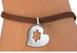 <bR>                     EXCLUSIVELY OURS!!<BR>               AN ALLAN ROBIN DESIGN!!<BR>      CLICK HERE TO SEE 600+ EXCITING<BR>         CHANGES THAT YOU CAN MAKE!<BR>        CADMIUM,  LEAD & NICKEL FREE!! <BR>W295SB - POLISHED SILVER TONE HEART <BR>       AUTUSM PUZZLE CHARM BRACELET <BR>           FROM $4.15 TO $8.00 �2012