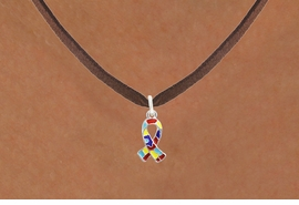 <bR>                   EXCLUSIVELY OURS!!<BR>             AN ALLAN ROBIN DESIGN!!<BR>    CLICK HERE TO SEE 600+ EXCITING<BR>       CHANGES THAT YOU CAN MAKE!<BR>      LEAD, NICKEL & CADMIUM FREE!!<BR>W1091SN - MINI AUTISM AWARENESS<BR> PUZZLE RIBBON CHARM & NECKLACE<Br>           FROM $4.50 TO $8.35 �2011
