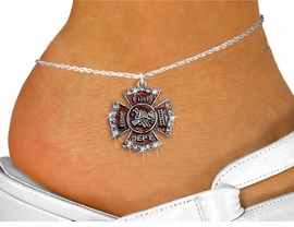 <bR>                 EXCLUSIVELY OURS!!<BR>           AN ALLAN ROBIN DESIGN!!<BR>  CLICK HERE TO SEE 600+ EXCITING<BR>     CHANGES THAT YOU CAN MAKE!<BR>LEAD, NICKEL & CADMIUM FREE!!<BR>W1284SAK - FIRE DEPARTMENT SHIELD <BR>      CRYSTAL CHARM AND ANKLET <Br>      FROM $5.40 TO $9.85 �2012