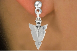 "<bR>               EXCLUSIVELY OURS!!<BR>         AN ALLAN ROBIN DESIGN!!<BR>CLICK HERE TO SEE 600+ EXCITING<BR>   CHANGES THAT YOU CAN MAKE!<BR>              LEAD & NICKEL FREE!!<BR>         W1003SE - ""ARROWHEAD""<Br>  EARRINGS FROM $4.50 TO $8.35"