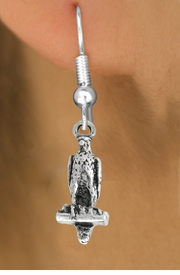 """<bR>               EXCLUSIVELY OURS!!<BR>         AN ALLAN ROBIN DESIGN!!<BR>CLICK HERE TO SEE 600+ EXCITING<BR>   CHANGES THAT YOU CAN MAKE!<BR>              LEAD & NICKEL FREE!!<BR>              W1009SE - """"FALCON""""<Br>  EARRINGS FROM $4.50 TO $8.35"""