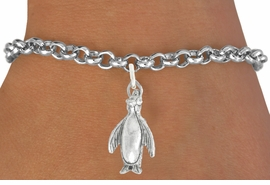 "<bR>               EXCLUSIVELY OURS!!<BR>         AN ALLAN ROBIN DESIGN!!<BR>CLICK HERE TO SEE 600+ EXCITING<BR>   CHANGES THAT YOU CAN MAKE!<BR>              LEAD & NICKEL FREE!!<BR>             W1013SB - ""PENGUIN"" <Br>   & BRACELET FROM $4.15 TO $8.00"