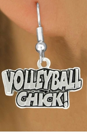 "<bR>               EXCLUSIVELY OURS!!<BR>         AN ALLAN ROBIN DESIGN!!<BR>CLICK HERE TO SEE 600+ EXCITING<BR>   CHANGES THAT YOU CAN MAKE!<BR>              LEAD & NICKEL FREE!!<BR>  W1024SE - ""VOLLEYBALL CHICK""<Br>  EARRINGS FROM $4.50 TO $8.35<BR>                                 �2010"
