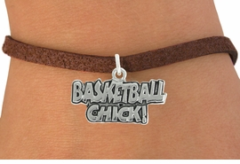 "<bR>               EXCLUSIVELY OURS!!<BR>         AN ALLAN ROBIN DESIGN!!<BR>CLICK HERE TO SEE 600+ EXCITING<BR>   CHANGES THAT YOU CAN MAKE!<BR>              LEAD & NICKEL FREE!!<BR>  W1025SB - ""BASKETBALL CHICK"" <Br>   & BRACELET FROM $4.15 TO $8.00"