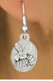 <bR>               EXCLUSIVELY OURS!!<BR>         AN ALLAN ROBIN DESIGN!!<BR>CLICK HERE TO SEE 600+ EXCITING<BR>   CHANGES THAT YOU CAN MAKE!<BR>              LEAD & NICKEL FREE!!<BR>                     W1036SE - BEE<Br>  EARRINGS FROM $4.50 TO $8.35